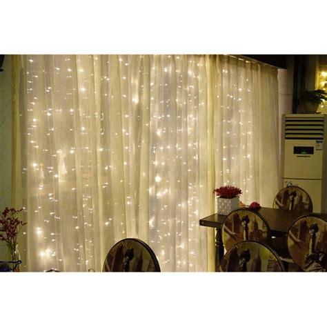 lu gorden dekorasi wedding light 3x3meter dengan 300 led white jakartanotebook