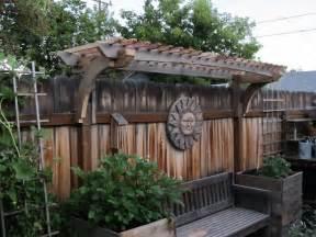 montana wildlife gardener new grape arbor