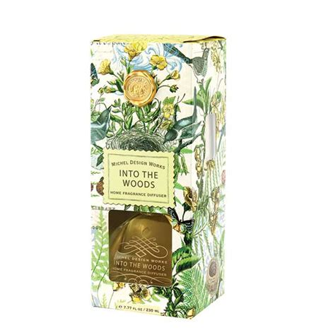 michel design works holiday home fragrance diffuser gibbs and michel design works fragrance diffuser into the woods