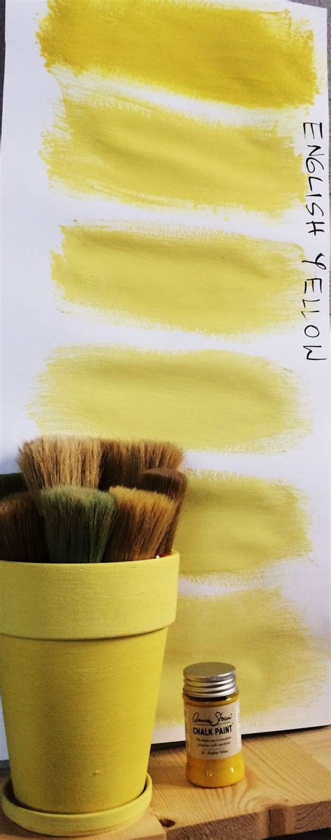 yellow chalk 1000 images about old violet english yellow chalk paint