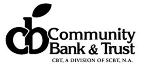 community bank na cbt community bank trust cbt a division of scbt n a