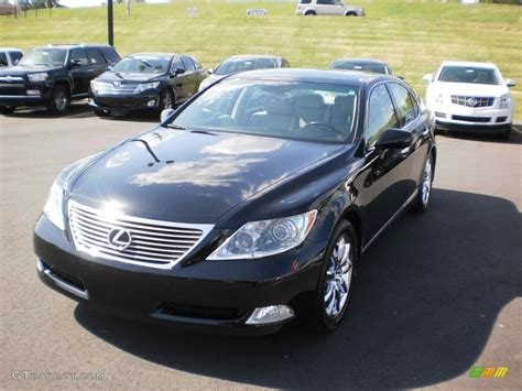 black lexus 2008 2008 obsidian black lexus ls 460 57217192 photo 16