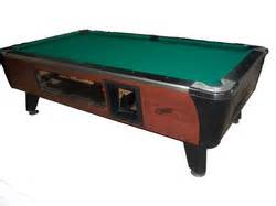 used coin operated pool tables for sale or rent century