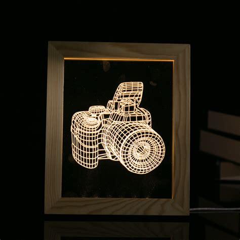 decorative usb l kcasa fl 704 3d photo frame illuminative led night light