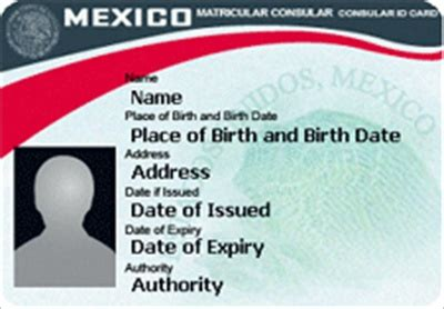 mexican id card template for the naacp s to get a state id it won t hurt