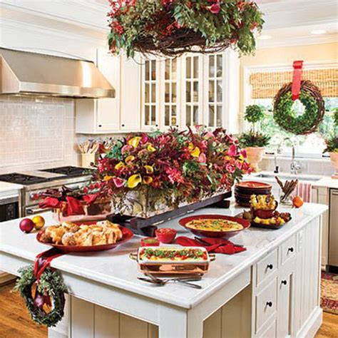 christmas decorating ideas for the kitchen unique kitchen decorating ideas for christmas family