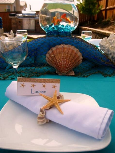 The Sea Table Decorations by The Sea Oh Creative