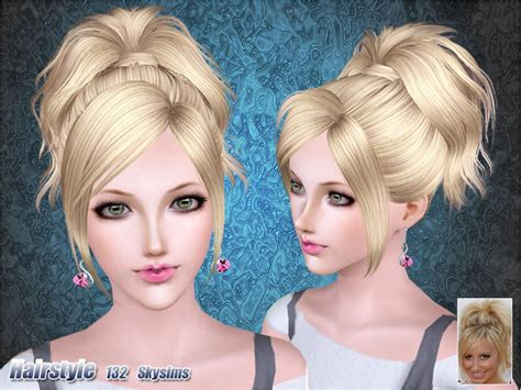 sims 3 free hair skysims hair 132