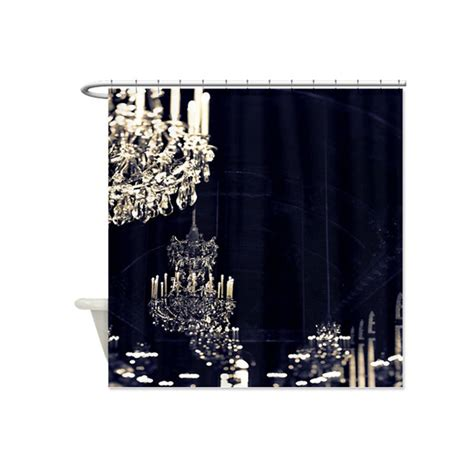 Chandelier Shower Curtain Chandelier Fabric Shower Curtain By Ruby And B Notonthehighstreet