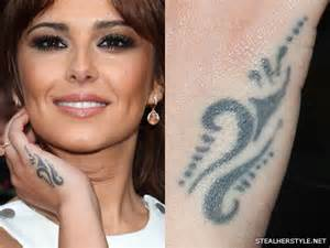 cheryl cole s tattoos amp meanings steal her style