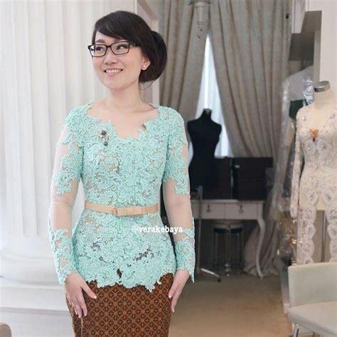Dress Brukat Ak vera anggraini verakebaya instagram photos websta kebaya by verakebaya kebaya