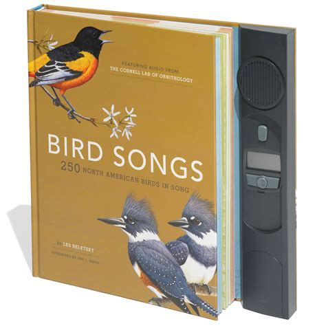 the 250 bird songs audio book hammacher schlemmer
