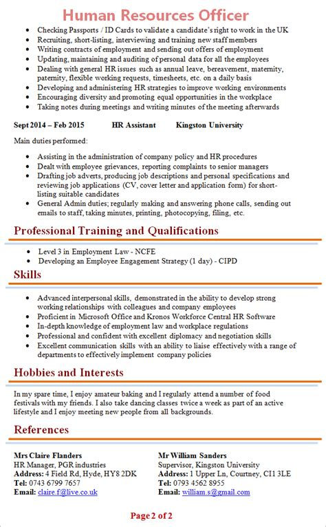 hr cv format download blank cvs microsoft word autos post