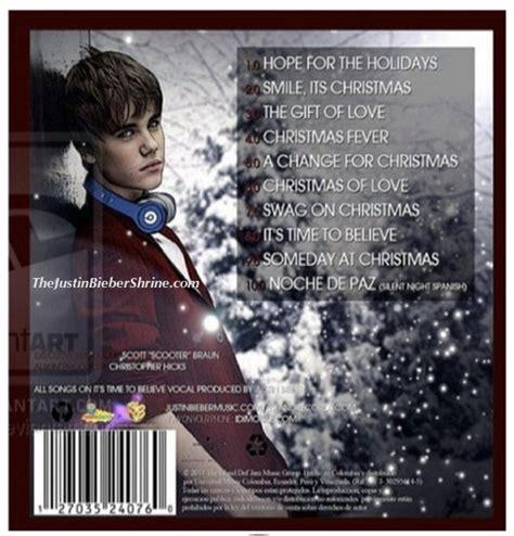song album justin bieber chrismas album songs tracklist