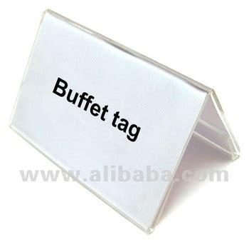 buffet name tags acrylic buffet tag buy acrylic buffet tag product on alibaba
