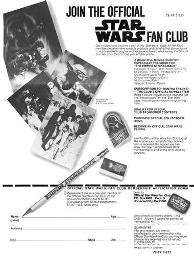official star wars fan club the official star wars fan club bantha tracks 1978 1987