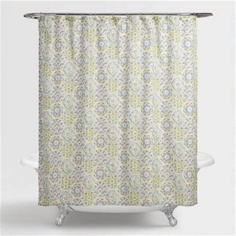 collingswood shower curtain antique bronze tension shower curtain rod world market
