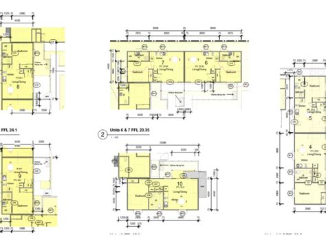 floor plans for units multi unit floor plans granny flats abode2 ballina