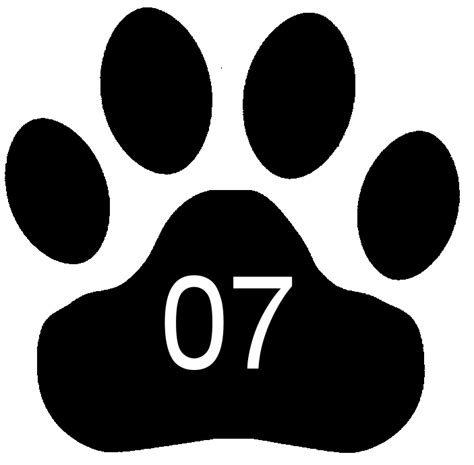 tiger paw template paw stencil related keywords suggestions paw stencil