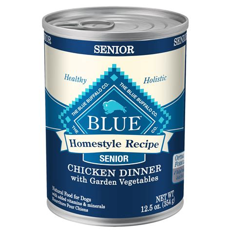 blue buffalo senior food blue buffalo homestyle recipe chicken dinner with garden