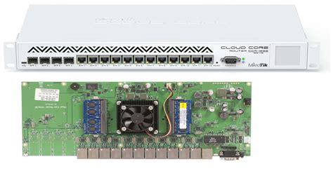 Cloud Router Merupakan Produk Unggulan Baru Dari Mikrotik Yang Me jual harga mikrotik ccr1036 12g 4s 4 sfp 12 port ethernet