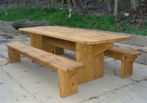 banquet benches dining table and benches banquet style rustic plank furniture