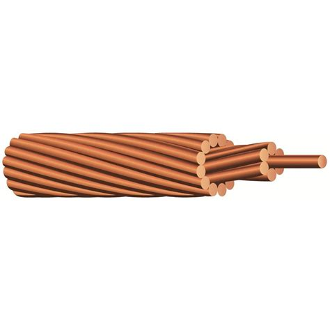 southwire 125 ft 2 stranded bare copper cable 10686403