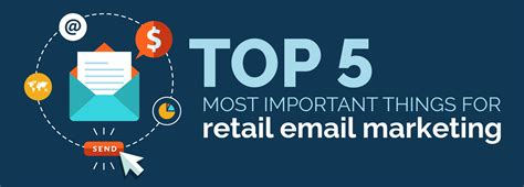 Email Marketing 5 by Top 5 Most Important Things For Retail Email Marketing