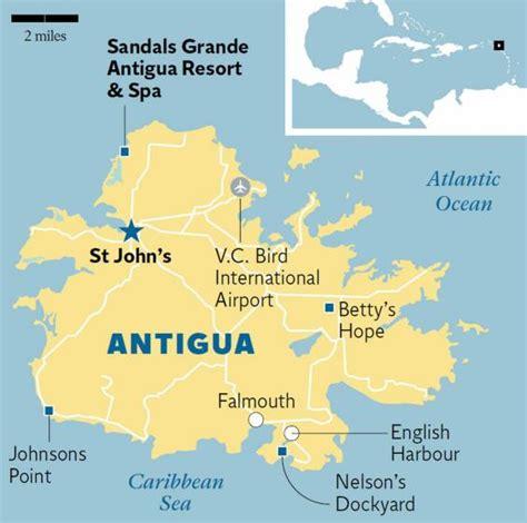 map of sandals antigua map of sandals antigua 28 images sandals grande