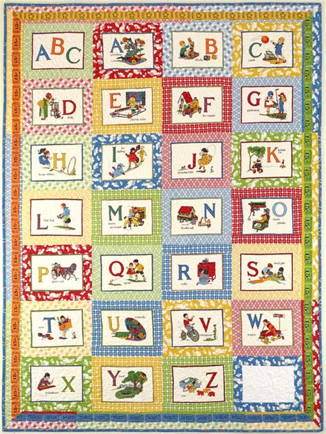 Letter Quilt Pattern Vintage Alphabet Quilt Diary Of A Quilter A Quilt
