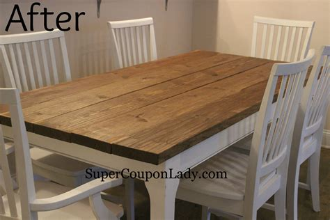 dining table refinishing dining table white