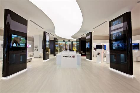 retail experience design storeage creates lg retail experience store in singapore