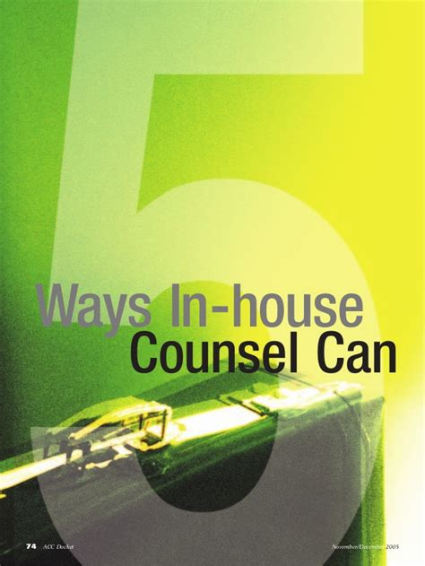 in house counsel 5 ways in house counsel can talk to law firms