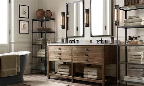 rooms restoration hardware bathroom