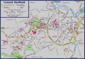 central sheffield map sheffield mappery