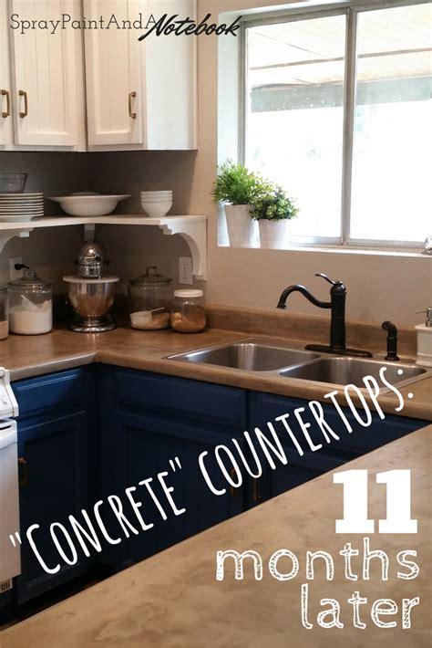 diy concrete countertops  months  home reno diy diy concrete countertops diy