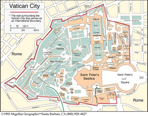 vatican city map view article st s basilica initial research
