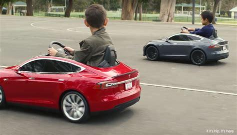 Mini Tesla Radio Flyer Launches The Tesla S Model For If It S