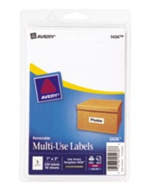 avery template 5436 print or write multi use labels