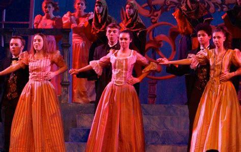 cinderella film high school conard high school s cinderella enchanting for audiences