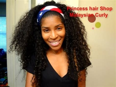 what level of heath to curl malaysian hair princesshairshop 1 month malaysian curly update youtube