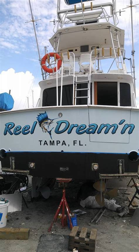 boat names with reel boat name ideas boat name design install ta
