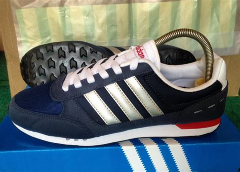 Sepatu Adidas Neo Citty Racer Nevy List Ijo Stabilo jual adidas neo city racer navy silver original naer sneakers