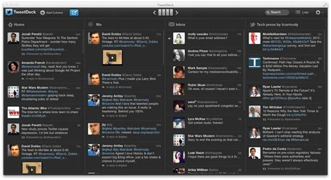 Teet Deck by On Tweetdeck Wants To Be Your Pro Client