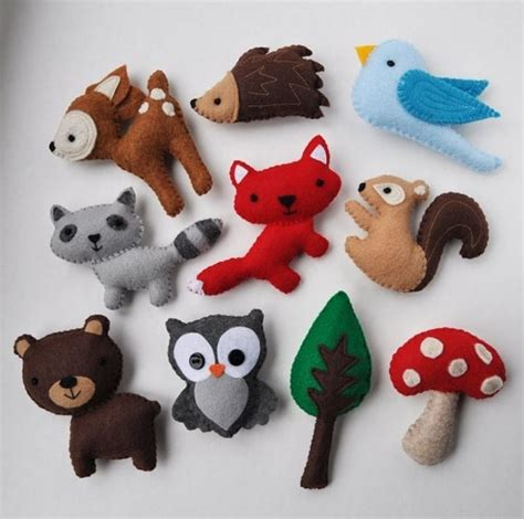 Dr Who Mobile Charms Make Your Mobile More Charmingly Annoying by 38 Felt Animals You Can Make Woodland