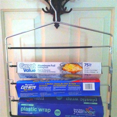 foil wrap cabinets our retreat inspiration pinterest to save space in my cabinets i took a multiple pants