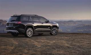 Buick Acadia 2017 Gmc Acadia Denali Awd Review Test Gm Authority