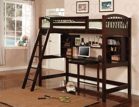 High Bunk Bed With Desk Underneath Pinterest Discover And Save Creative Ideas