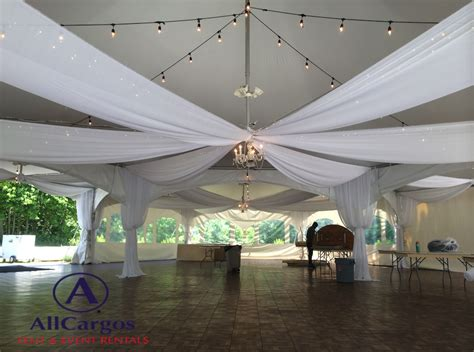 draping and lighting rentals vincent tent event rentals