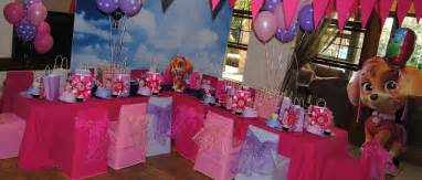 Dolphin Decorations Party Paw Patrol Theme Party For Girls Funtastic Kidz Parties